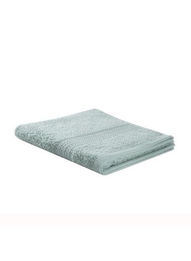 Taç TaÇ Pure Pamuklu 85X150Cm Basic Desenli Açık Banyo Havlusu Yeşil